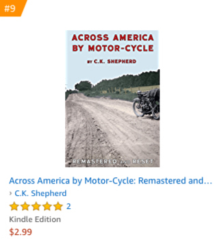 #9 Across America by Motor-Cycle Kindle
