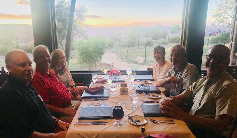 Dinner at the El Tovar