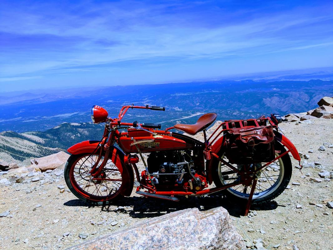 Pikes Peak: C.K. wrote about wanting to ride up Pikes Peak...